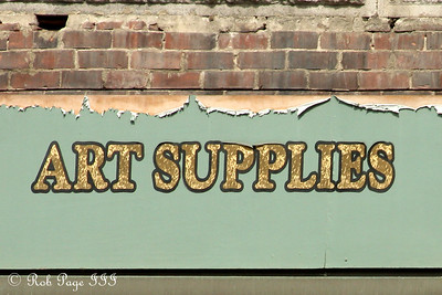 Art supplies - Brattleboro, VT ... August 8, 2009 ... Photo by Rob Page III
