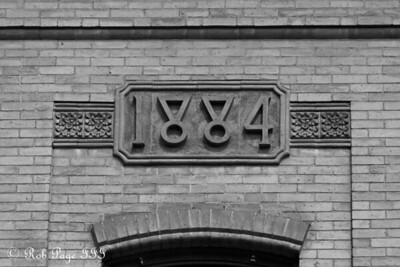 Some of the old masonry - Brattleboro, VT ... August 8, 2009 ... Photo by Rob Page III