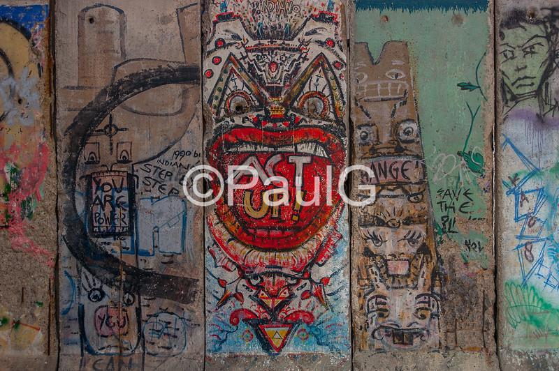 Berlin Wall Panels