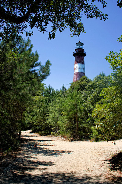 Assateague Island Lighthouse (under renovation)