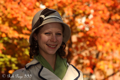 Emily enjoying autumn - Alexandria, VA ... November 5, 2011 ... Photo by Rob Page III