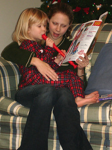 Laura and Emily - Richmond, VA ... December 25, 2005 ... Photo by Rob Page III
