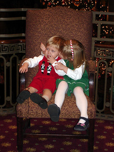 Michael and Laura at the Jefferson Hotel - Richmond, VA ... December 24, 2005 ... Photo by Rob Page III