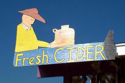 Fresh Cider - Centreville, VA ... October 15, 2006 ... Photo by Emily Conger