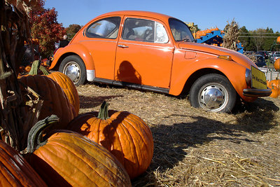Orange Herbie - Centreville, VA ... October 15, 2006 ... Photo by Emily Conger