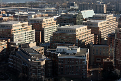Let's hope there were no architectural errors as this building is used 6 times - Alexandria, VA ... February 8, 2009 ... Photo by Rob Page III