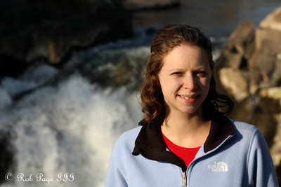 Emily enjoys the beautiful day - Great Falls, MD ... January 8, 2012 ... Photo by Rob Page III