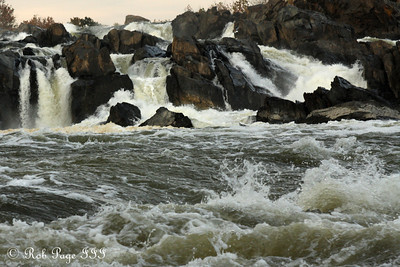 The Falls - Great Falls Park, VA ... October 26, 2009 ... Photo by Rob Page III