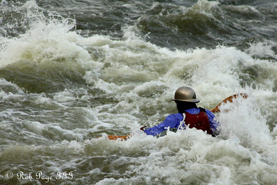 Kayaking in the Potomac - Great Falls Park, VA ... October 26, 2009 ... Photo by Rob Page III