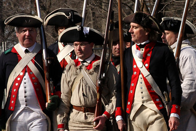 Marching to battle - Alexandria, VA ... February 15, 2009 ... Photo by Emily Page