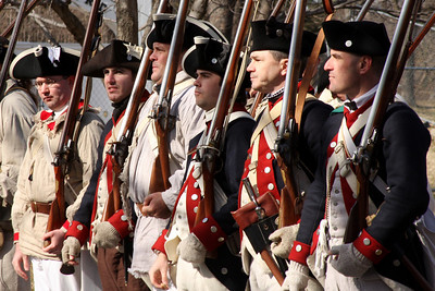 Soldiers receiving their orders - Alexandria, VA ... February 15, 2009 ... Photo by Rob Page III
