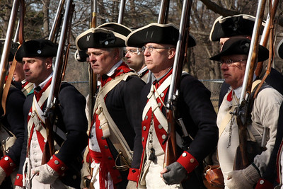 Revolutionary War Reenactment (American Preparations)