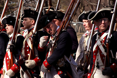 Revolutionary War re-enactment at Fort Ward Park - Alexandria, VA ... February 15, 2009 ... Photo by Rob Page III