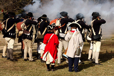 Firing off a volley - Alexandria, VA ... February 15, 2009 ... Photo by Rob Page III