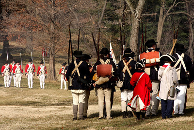 Facing off with the British - Alexandria, VA ... February 15, 2009 ... Photo by Rob Page III