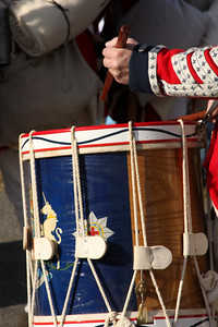 One of the battle drums - Alexandria, VA ... February 15, 2009 ... Photo by Rob Page III