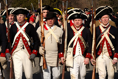 Marching in formation - Alexandria, VA ... February 15, 2009 ... Photo by Rob Page III