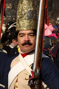 One of the Hessian soldiers - Alexandria, VA ... February 15, 2009 ... Photo by Rob Page III