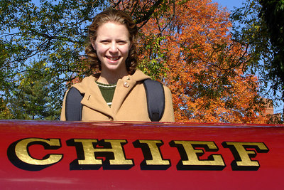 Is Emily the new fire chief - Millwood, VA ... October 21, 2006 ... Photo by Rob Page III