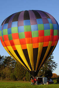 The balloon is almost ready to go up - Millwood, VA ... October 21, 2006 ... Photo by Rob Page III