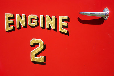 Fire Engine No. 2 - Millwood, VA ... October 21, 2006 ... Photo by Rob Page III