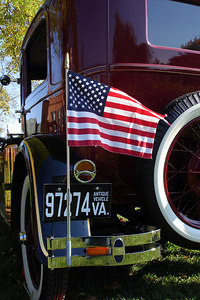 The back of one of the old fire engine - Millwood, VA ... October 21, 2006 ... Photo by Rob Page III