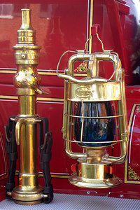 A fire nozzle and lantern - Millwood, VA ... October 21, 2006 ... Photo by Rob Page III