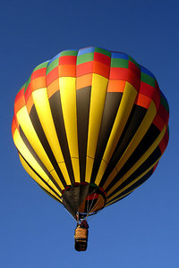 The hot air balloon is off - Millwood, VA ... October 21, 2006 ... Photo by Rob Page III