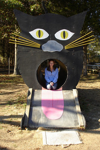 Emily found a kitty, but it is a little too big to take home - Virginia ... October 28, 2007 ... Photo by Rob Page III