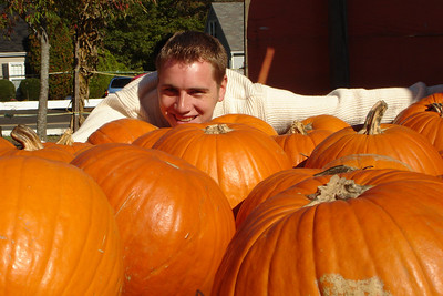 Playing in the pumpkins - Virginia ... October 28, 2007 ... Photo by Emily Conger