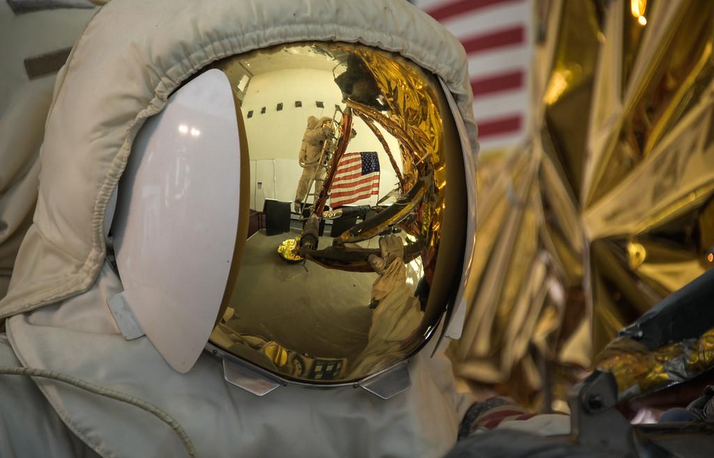 Moon Landing at the Smithsonian, Washington, DC