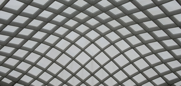 National Portrait Gallery Courtyard Roof