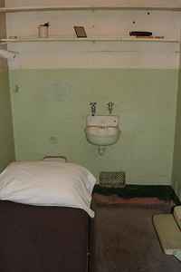 A typical cell at Alcatraz - San Francisco, CA ... July 31, 2006 ... Photo by Rob Page III