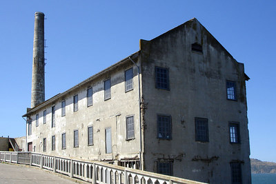 The old powerhouse on Alcatraz - San Francisco, CA ... July 31, 2006 ... Photo by Rob Page III
