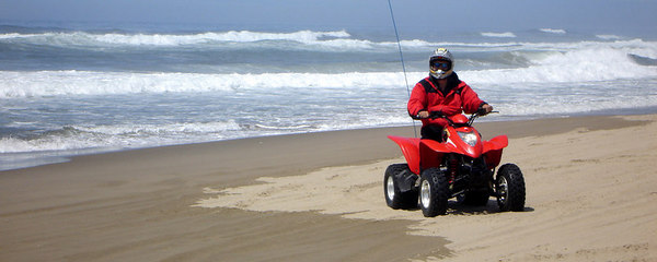 Dad, on the beach - Oregon Sand Dunes National Recreation Area, OR ... July 29, 2006 ... Photo by Rob Page III