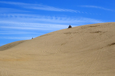Having fun on the dunes - Oregon Sand Dunes National Recreation Area, OR ... July 29, 2006 ... Photo by Bob Page, Jr.