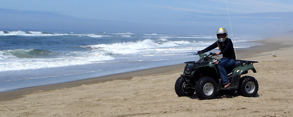 Heather, on the beach - Oregon Sand Dunes National Recreation Area, OR ... July 29, 2006 ... Photo by Bob Page, Jr.