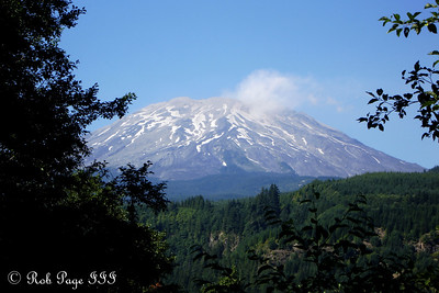 Mount St. Helens - Mount St. Helens National Volcanic Monument, WA ... July 27, 2006 ... Photo by Rob Page III