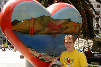 My heart is in San Francisco - San Francisco, CA ... July 26, 2006 ... Photo by Heather Page