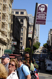 Waiting for the Cable Car - San Francisco, CA ... July 31, 2006 ... Photo by Rob Page III