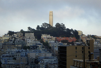 Coit Tower - San Francisco, CA ... July 26, 2006 ... Photo by Rob Page III