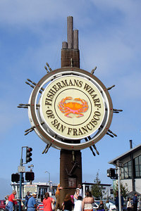 Fisherman's Wharf - San Francisco, CA ... July 26, 2006 ... Photo by Rob Page III
