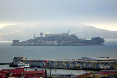 Alcatraz - San Francisco, CA ... July 26, 2006 ... Photo by Rob Page III