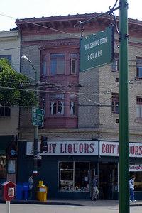 Washington Square and Coit Liqours - San Francisco, CA ... July 26, 2006 ... Photo by Rob Page III