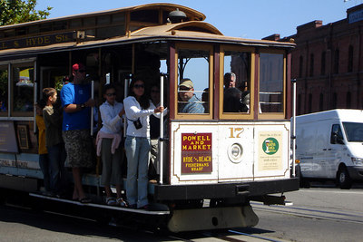 The San Francisco Cable Car - San Francisco, CA ... July 31, 2006 ... Photo by Rob Page III