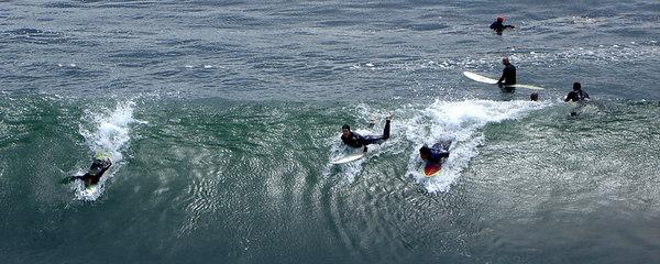 Surfers - Santa Cruz, CA ... July 30, 2006 ... Photo by Rob Page III