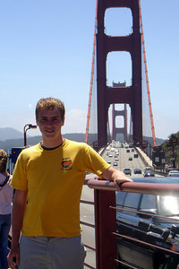 Rob and the Golden Gate Bridge - San Francisco, CA ... July 31, 2006 ... Photo by Unknown