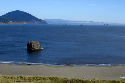 The Oregon Coast - Port Oxford, OR ... July 29, 2006 ... Photo by Rob Page III