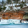 Sea Caves, Lake Superior Near Bayfield WI - 2014