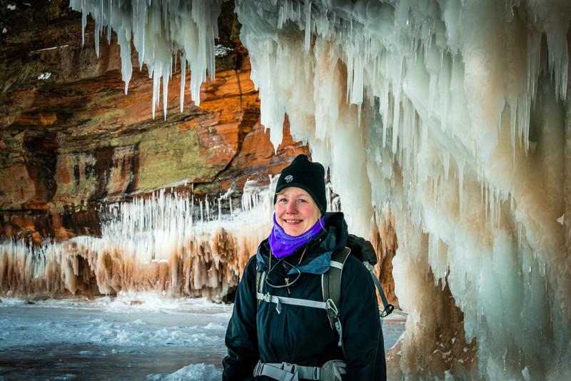 Sea Caves, Lake Superior Near Bayfield WI - 2014